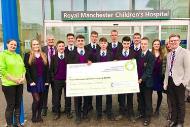 Visit to Royal Manchester Children's Hospital