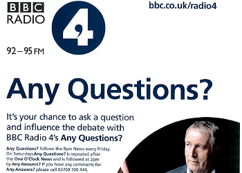 BBC Radio 4 – Any Questions?