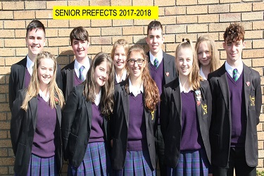 Senior Prefects 2017-18