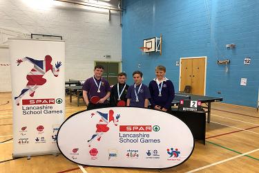 U13 Lancashire Boys Table Tennis Competition