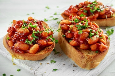 Fine Dining Baked Beans on Toast